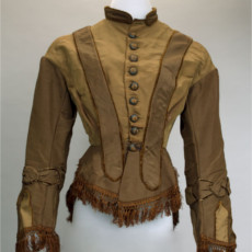 Clara Barton Bodice, c 1855-1865, Clara Barton National Historic Site (National Park Service)