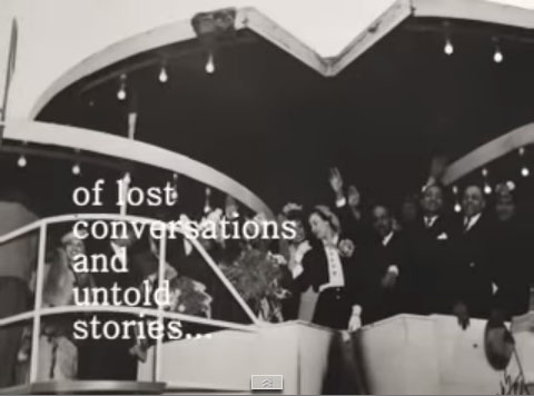 Screenshot from NPS video produced by Betty Reid Soskin -- Of Lost Conversations
