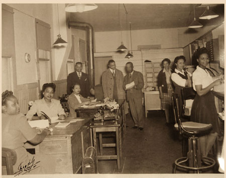 Workers at Boilermakers Union, Local Auxiliary 36