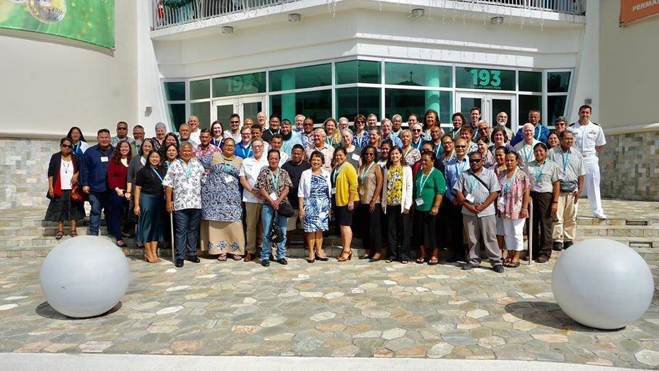 World Heritage Opportunities training participants