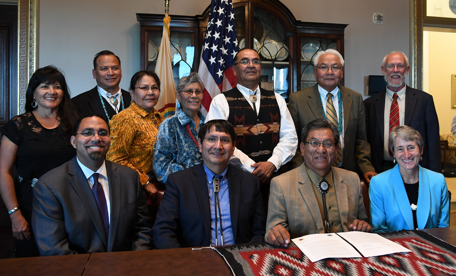 Sally Jewell >> Secretary Jewell Issues Secretarial Order to Encourage Tribal Role in Managing Interior Lands ...