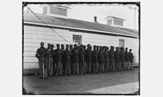 African American troops in Union uniforms