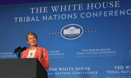 Secretary Jewell at 2016 White House Tribal Nation's Conference