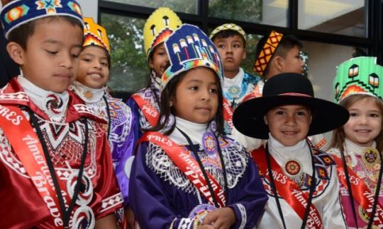 Choctaw Indian Children