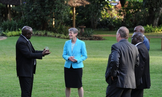 Secretary Jewell visits Nairobi National Park in Kenya