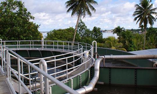 Chuuk State Refurbishes Wastewater Treatment Plant
