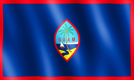 Official Flag of Guam
