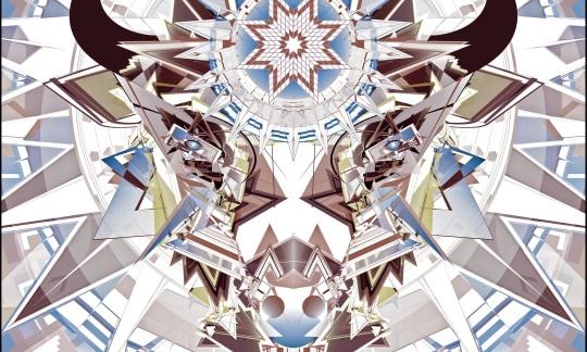 """""""Tatáŋka Nağí / Buffalo Spirit,"""" Digital Vector Canvas Print © 2015 Marlena Myles"""