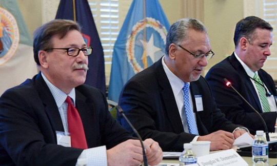 White House and Interior Senior Officials Host Territory Governors at Interagency Group on Insular Areas (IGIA)
