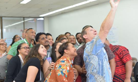 2019 Executive Leadership Development Program for Pacific Island Mid-Level Professionals participants