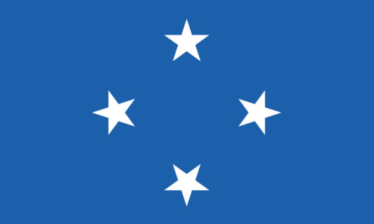 Official Flag of the Federated States of Micronesia