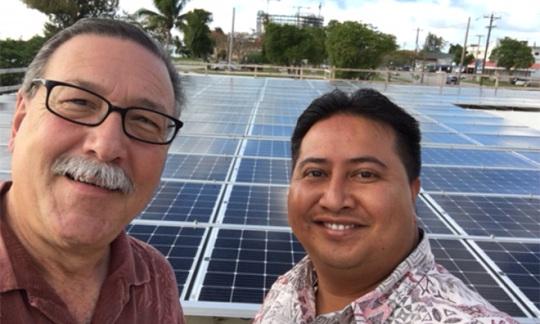 Assistant Secretary Domenech Visits CNMI Governor Torres  On Saipan
