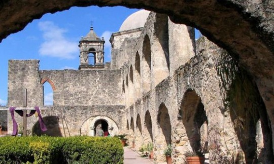 Historic structures of Convento at San Antonio Missions National Historical Park