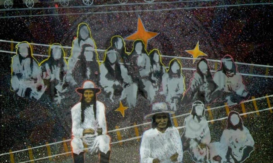 """One Way Ticket"" by Oliver Enjady, Mescalero Apache"