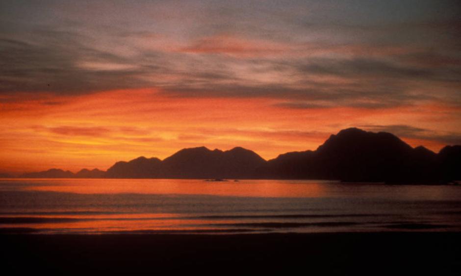 Sunrise in Adak