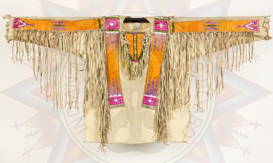 """Man's War Shirt,"" Collection of the Sioux Indian Museum/IACB, Sioux"