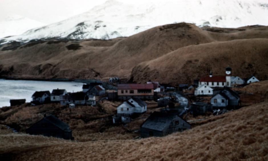 Village on Atka Island