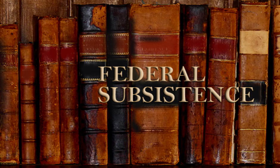 Federal Subsistence Books