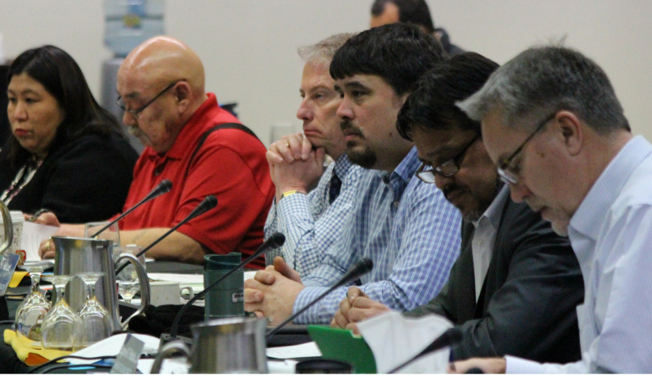 Board Members at January 2017 Federal Subsistence Board Meeting