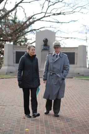 Secretary Jewell and NPS Director Jarvis