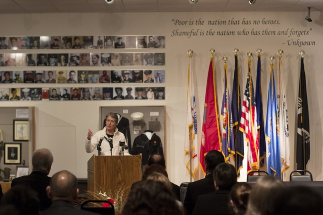 Secretary Jewell Speaking