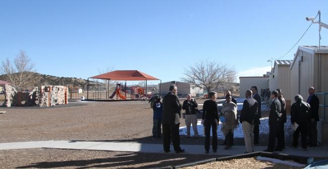 Laguna Pueblo School playground