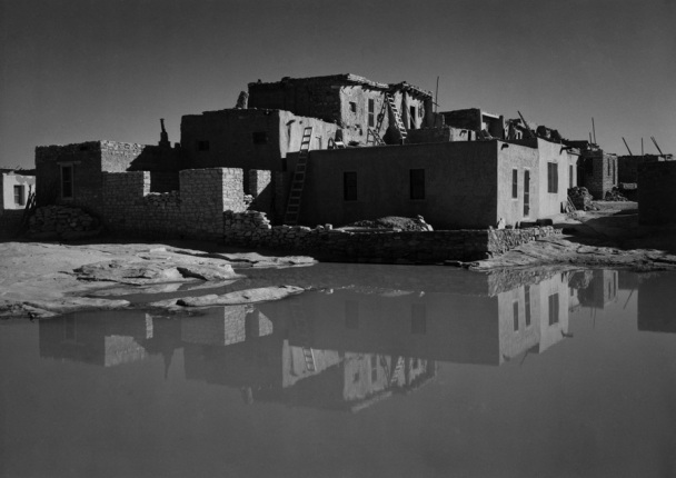 Acoma Pueblo Arizona Ansel Adams National Archives no. 79-AAA-01