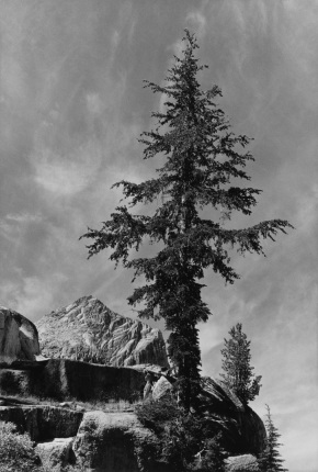 An Unnamed Peak, Kings River Canyon California Ansel Adams National Archives no. 79-AAH-8