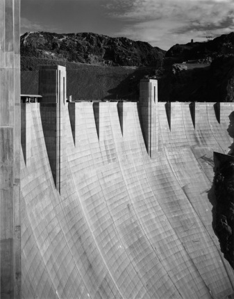 Boulder Dam Colorado River, Nevada / Arizona Border, 1942 Ansel Adams National Archives no. 79-AAB-4