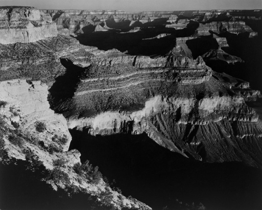 Grand Canyon National Park Arizona Ansel Adams National Archives no. 79-AAF-26
