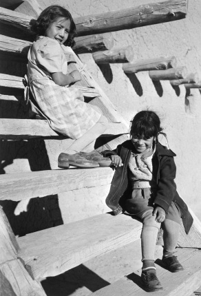 At San Ildefonso Pueblo, New Mexico New Mexico, 1942 Ansel Adams National Archives no. 79-AAP-04
