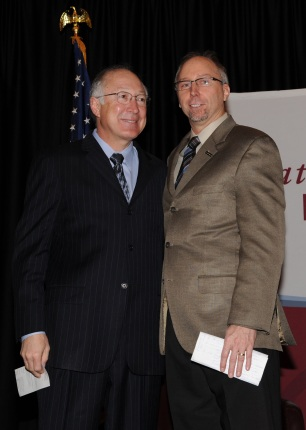 Secretary Salazar and Mike Van Abel