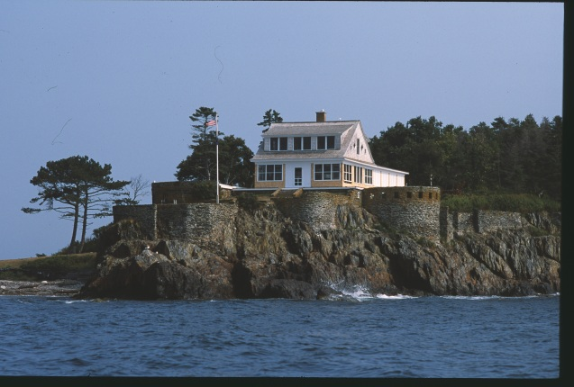 Eagle Island View of House