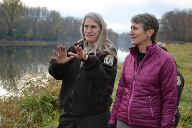 Deputy Refuge Manager Jeanne Holler shares her perspective on resource management issues at Minnesota Valley National Wildlife Refuge.