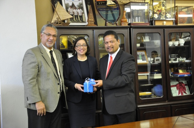 OIA Director Pula, ASKiaaina, RMI President Nemra