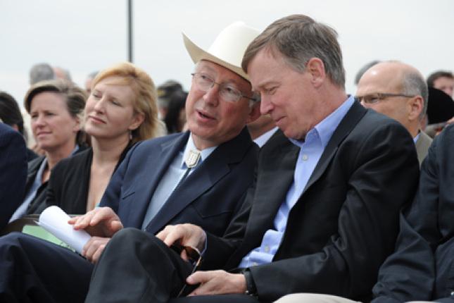 Secretary Salazar and Governor Hickenlooper
