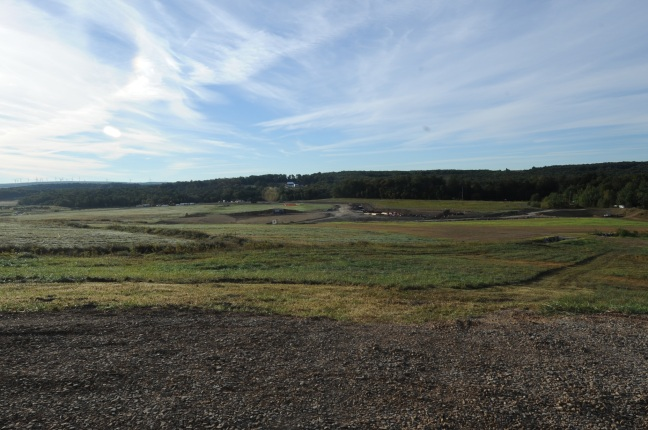 The Western Overlook, where Flight 93 crashed nine years ago.