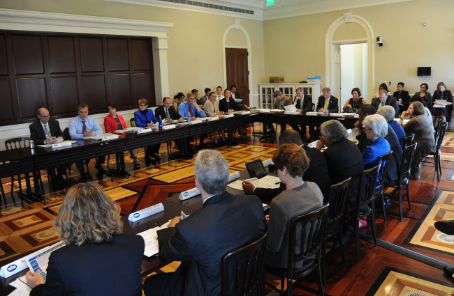 Third meeting of the white house council on native american affairs