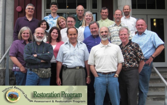 Team meeting at the National Conservation Training Center in Shepherdstown, WV in July 2008
