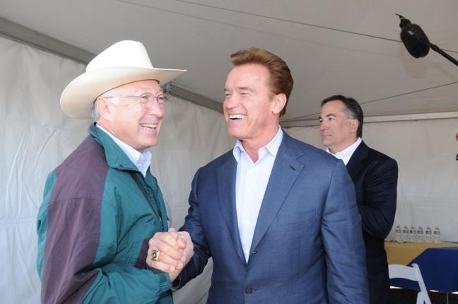 Secretary Salazar and Governor Arnold Schwarzenegger