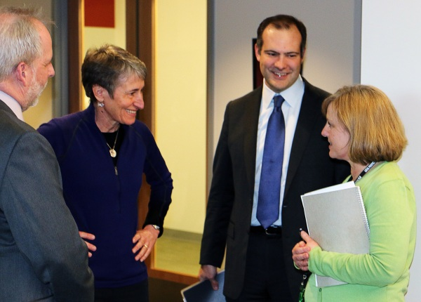 Secretary Jewell and Director Beaudreau