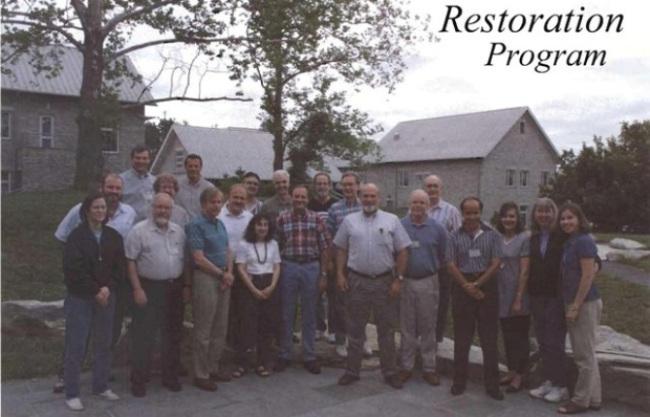 Restoration Program Management Team in June 1999