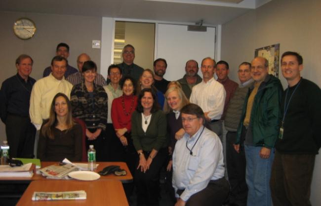 Management Team meeting in December 2007