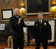 Secretary Salazar applauds Chief Chambers return
