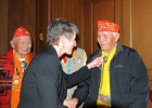 Secretary Jewell with Navajo Code talkers from WWII