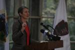 Secretary Jewell speaking
