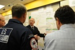 Secretary Salazar received a full situation briefing from BP staff and US Coast Guard Officers upon his arrival in Louisiana on Thursday.