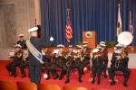 Navy Band performing