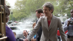 Secretary Jewell Enters the Udall Building
