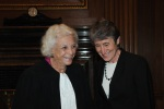 Retired Justice Sandra Day O'Connor and Interior Secretary Sally Jewell